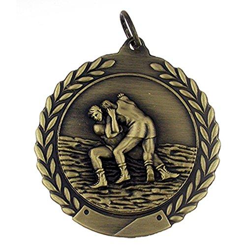 PinMart Wrestling Award Gold Medal