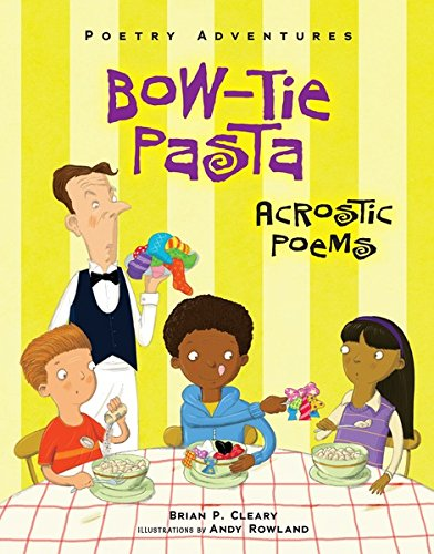 Bow Tie Pasta Acrostic Poetry Adventures ebook product image
