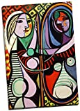 Pablo Picasso canvas print artwork & wall art pictures, ready to hang Panther Print Canvas prints are of high quality and come framed on a 18MM Pine wood lightweight frame with the canvas stretched over and around the frame, this is then stapled ...