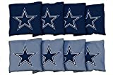 Victory Tailgate Dallas Cowboys NFL Cornhole Game Bag Set (8 Bags Included, Corn-Filled)