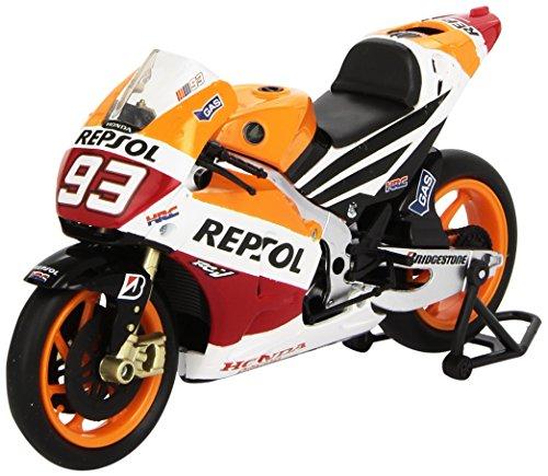 Nueva-Ray-57663-Vehculo-Ready-Modelo-AT-ancha-Honda-Moto-Gp-Marco-Mrquez-Escala-112