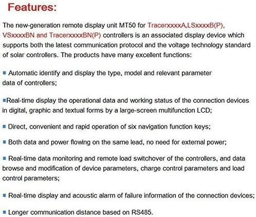 Capteur de temp/érature de batterie et adaptateur de surveillance RS485 /à USB pour contr/ôleur de charge solaire EPEVER MPPT