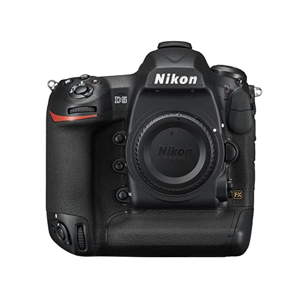 51mo908e 4L. SS600  - Nikon D5 DSLR 20.8 MP Point & Shoot Digital Camera, Dual XQD Slots - Black