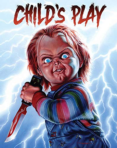 briprints Childs Play Chucky Movie Poster Print Size 24x18 Decoration semi Gloss Paper]()