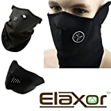 Elaxor™ Unisex Dustproof & Windproof Ski Mask & Warm Neck - Half Face Mask for Paintball Bicycle Bike Motorcycle & All Out Door Sports Snowboard Skiing Hunting Fishing