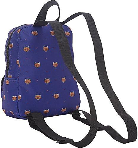 Dickies Mini Mini Festival Backpack (Clear PVC with Rainbow) 3