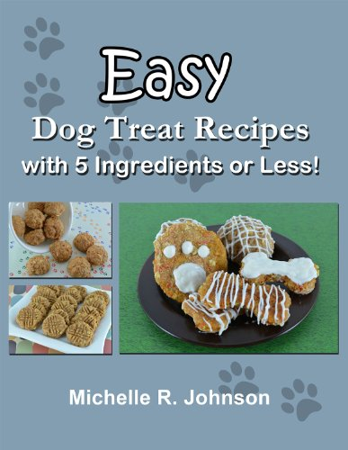 Easy Dog Treat Recipes with 5 Ingredients or (Make Dog Biscuits)