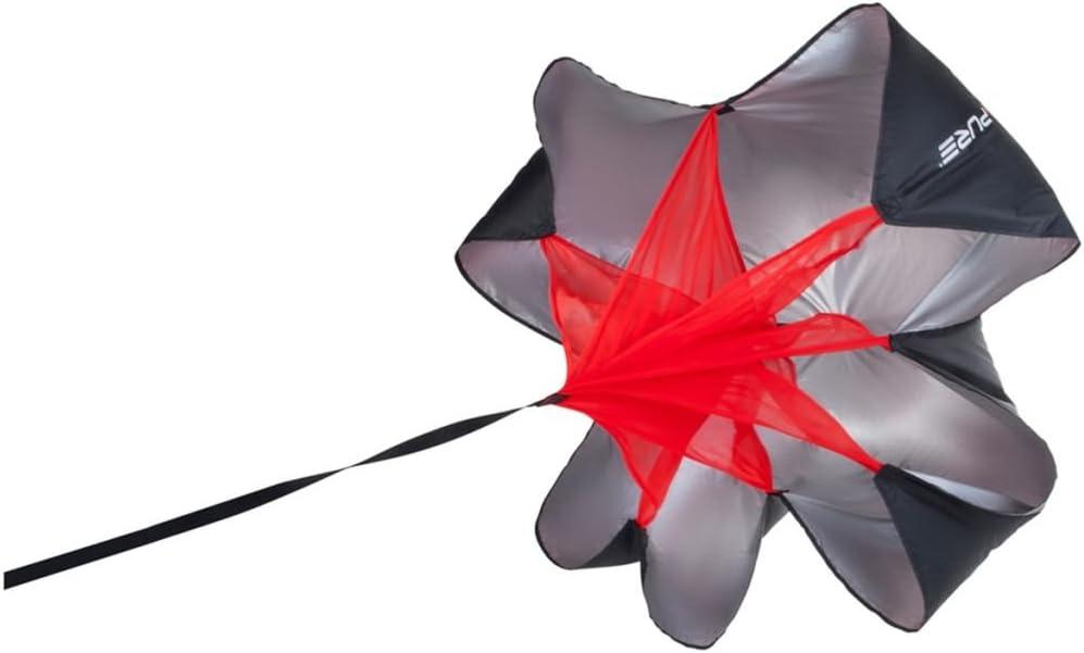 Talla /única Unisex-Adult Pure2Improve P2I200470 Chute Pure Speed Negro//Rojo