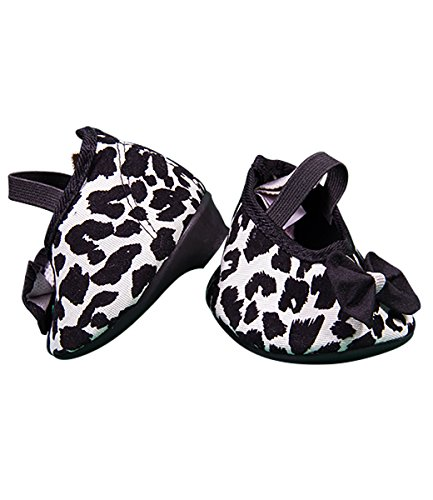 Cream Leopard Print High Heels Teddy Bear Clothes Fits Most 14