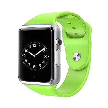 Morza WeChat Relojes Deportivos Inteligentes A1 Bluetooth Inteligente Reloj de la Ayuda de Tarjeta SIM del