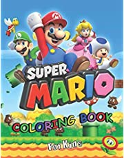 Super Mario Coloring Book for Kids: jumbo Activity Books for boys & girls ages 4-8