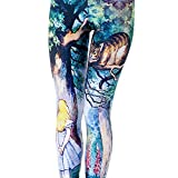 Idingding Womens Hot Sale Galaxy Star Printed High Waist Leggings Pants