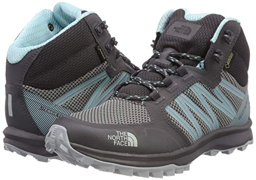 Face Litewave Fastpack Splash High Boots Gore aqua Rise tex North The Mid blackened Hiking 5yd Women''s Black Pearl pt5nqC
