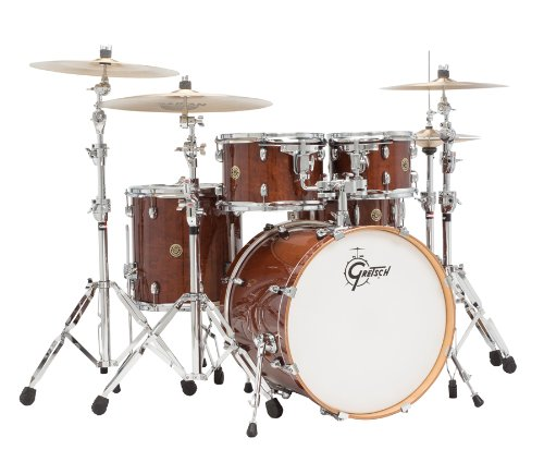 Gretsch Drums Catalina Maple CM1-E605-WG 5-Piece Drum Shell Pack, Walnut Glaze ()