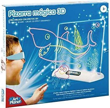 PIZARRA MAGICA 3D: Amazon.es: Juguetes y juegos