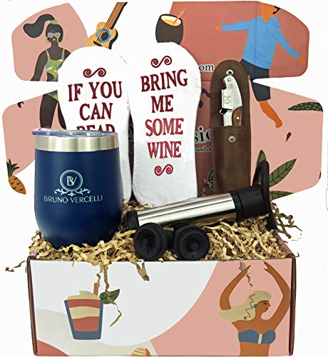 Fathers gift set by Silly Obsessions. Fun Gift Box for Father. Father's day, Birthday Gift Basket for Dad, Husband, Him. (Father's Box Wine) (Best Friendship Day Gift For Husband)