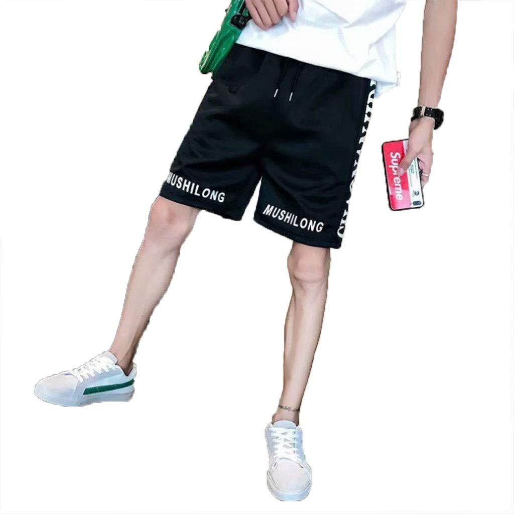 Sports Shorts Met Love Pantalones Cortos Impresión de Letras ...