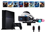 PlayStation VR Start Bundle 10 Items:VR Start Bundle PS,PS4 Call of Duty Black Ops III,6 VR Game Disc Until Dawn,Rush of Blood,EVE: Valkyrie, Battlezone,Batman:Arkham VR, DriveClub,Battlezone