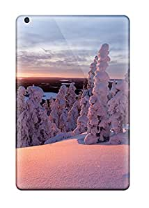 Premium Ipad Mini 2 Case - Protective Skin - High Quality For Snow Covered Trees 8849963J76654623
