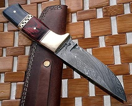 Amazon.com: Cuchillo damasco de acero BC-ST-31 - Ideal para ...