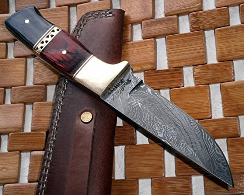 Poshland BC-ST-31 Custom Damascus Steel Knives- Ideal for Hunting & Bushcraft