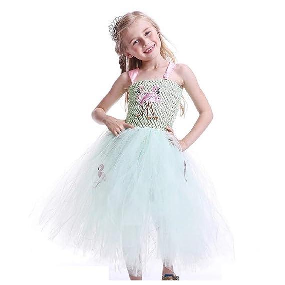 3383ba851 THE LONDON STORE Baby Girl Mint Green Princess Girls Flamingo Tutu ...