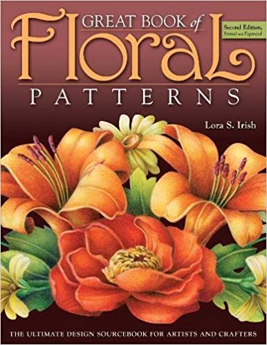 great book of floral patterns 2nd edition the ultimate design sourcebook for artists and crafters