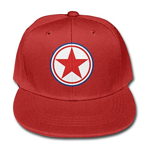 roundel-of-the-korean-peoples-army-air-force-cotton-kid-solid-color-baseball-cap-mesh-cap