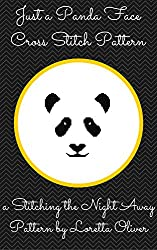 Just a Panda Face Cross Stitch Pattern
