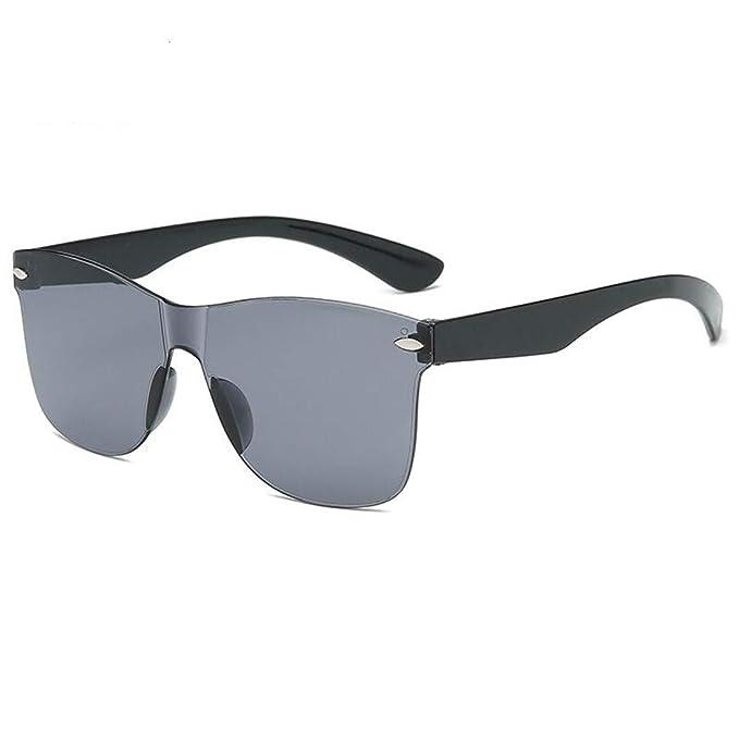 Fliegend Hombre Mujer Gafas de Sol Transparentes UV400 ...