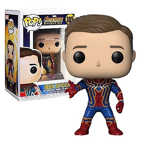 Funko Pop! Avengers: Iron Spider (Spider-man) Unmasked - Boxlunch Exclusive