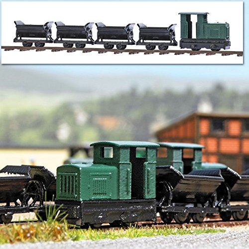 Review Non-Operating Narrow Gauge industrial