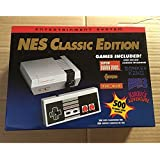 Aoile Classic Edition NES Mini Entertainment Game Console with 2 Controllers 8 Bit 500 Games Retro Video Game Player Toys for Kids Perfect Gifts (European version)