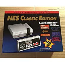 Classic Edition NES Mini Entertainment Game Console with 2 Controllers 8 Bit 500 Games Retro Video Game Player Toys for Kids Perfect Gifts (U.S. Edition)