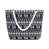 GSYDXKB Canvas Bags Women's Fashion Handbag Large