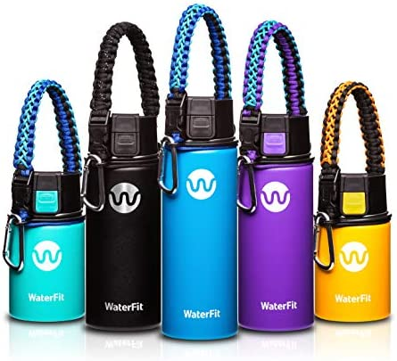 WaterFit Vacuum Insulated Water Bottle product image