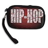 Hand-held Belt Zipper Small Wallet Hip Hop Time Purse Porte-monnaie Cards Holder Wallet Purse