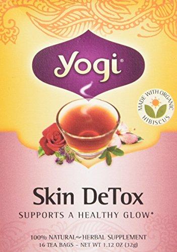 Yogi Skin DeTox Tea, 16 Tea Bags