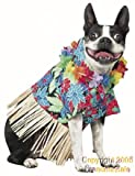 Pet Tiki Hawaiian Dog Costume For Small Dogs by Pony Express