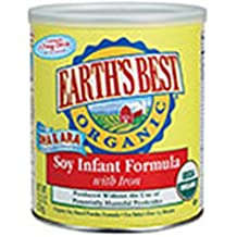 Earth's Best Organic Infant Soy Formula With Iron (4x23.2 Oz)