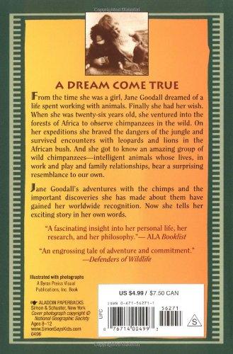 My Life with the Chimpanzees: Jane Goodall: 9780671562717: Amazon ...