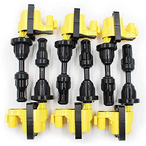 Koauto 6/set Ignition Coil Pack For Nissan 300Zx, Fairlady Z, J30 Vg30De Vg30Dett 22448-30P01