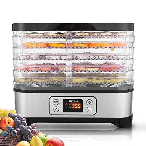 Hauture Food Dehydrator Machine, Digital Timer and Temperature Control, 5 Trays, for Jerky/Meat/Beef/Fruit/Vegetable, BPA Free by Hauture (Image #9)
