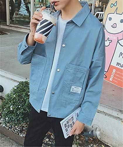 [ダーセン]メンズ 春秋 コート 防風 スプリングコート 長袖 ファッション カジュアル ロングシャツ カーディガン コート