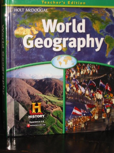 World Geography: Teacher Edition Survey 2012