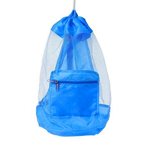 COOLGO XL Large Mesh Beach Tote Bag for Outdoor Swim Pool Childrens and...
