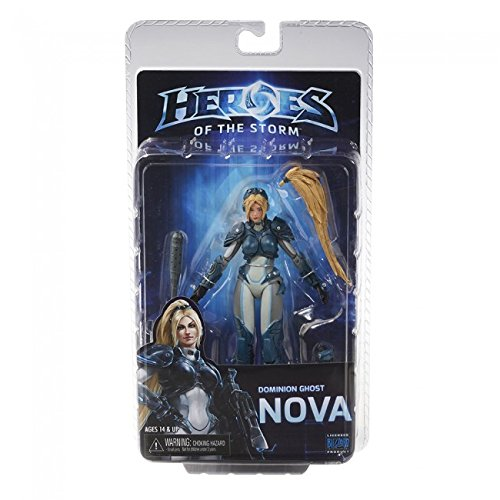 "NECA Heroes of The Storm 7"" Scale Nova Action Figure"