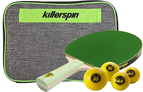 Killerspin JET200 Lime Table Tennis Racket Combo by Killerspin (Image #2)
