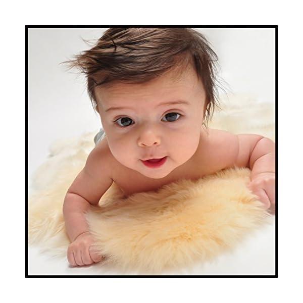 Nui Organics Baby Lambskin Rug Longwool-50 x 90 by Nui Organics