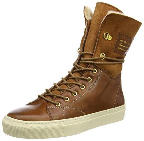 Sneaker Olivia Marrone tan Donna Alte G41 braun Gant zASvqUnpq